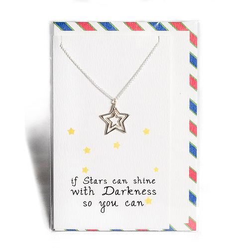 Shining Star Affirmation Necklace
