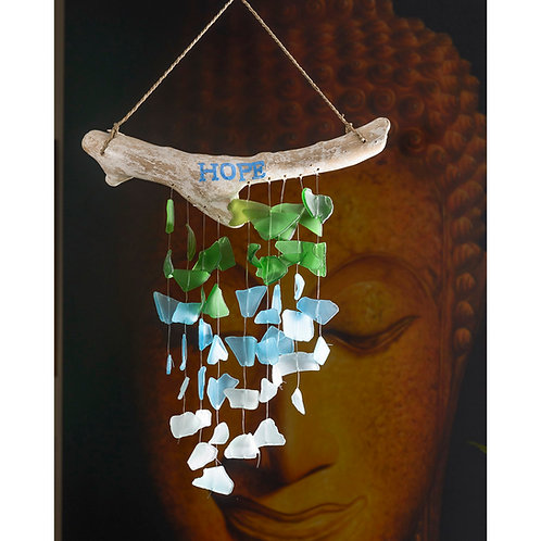 Hope Seaglass Chimes (large)