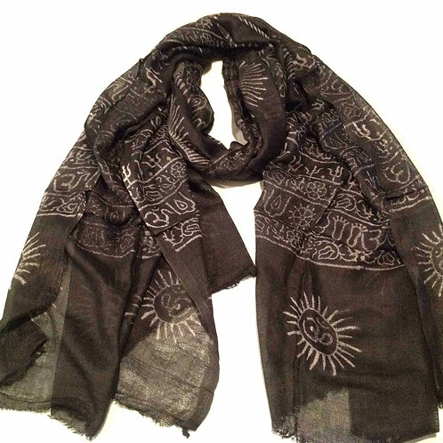 foulard de prières/ prayer scarf 1