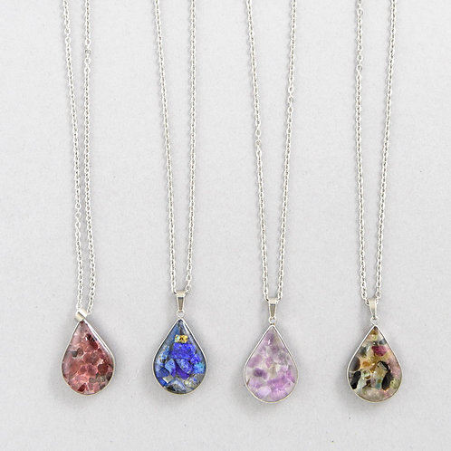 Crystal Tears Necklace B