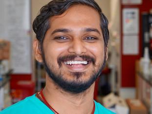 Mastan joins lab for postdoc