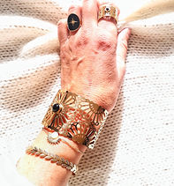 bijoux fantaisie bracelet doré jonc bague collier jolietteshop.com