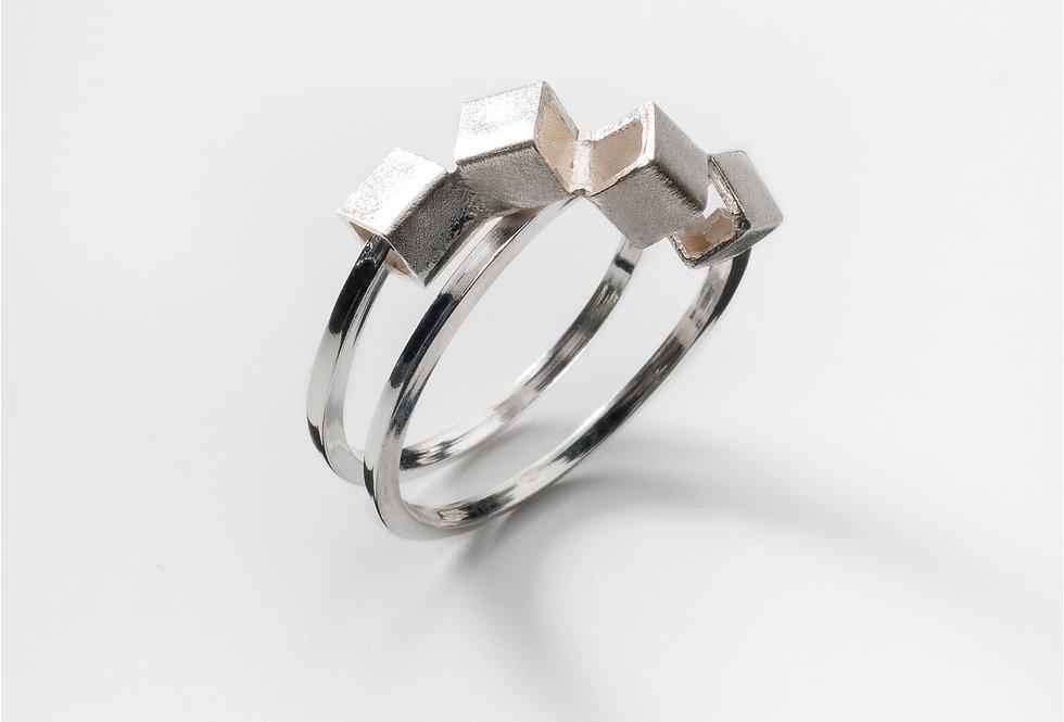 CUBE RING SMALL