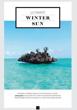 Winter sun BA opener
