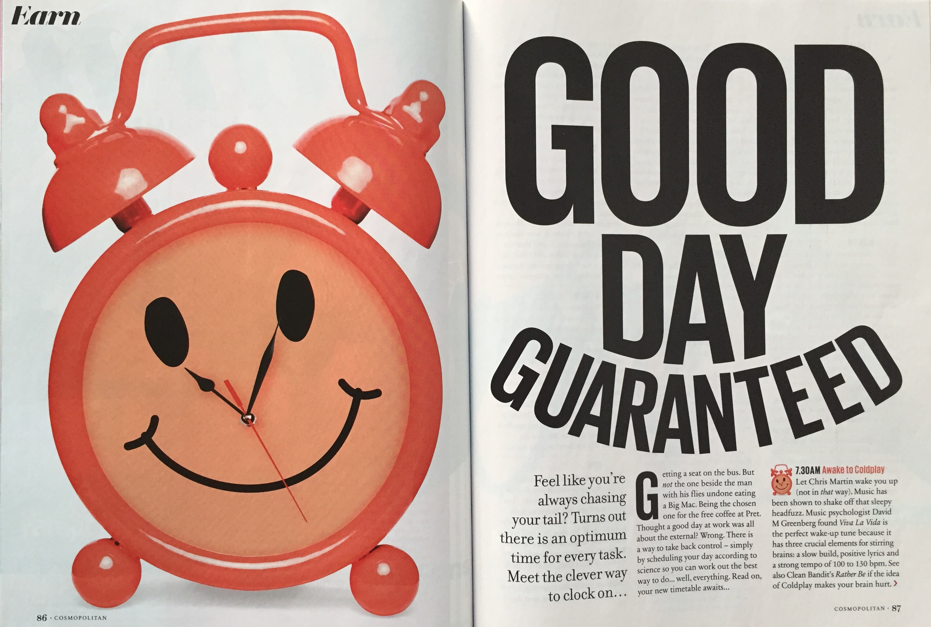 Cosmo perfect day image