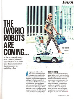 Cosmo robots