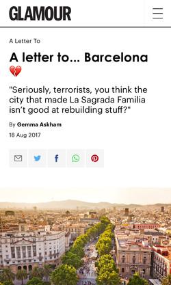 Love letter to Barcelona