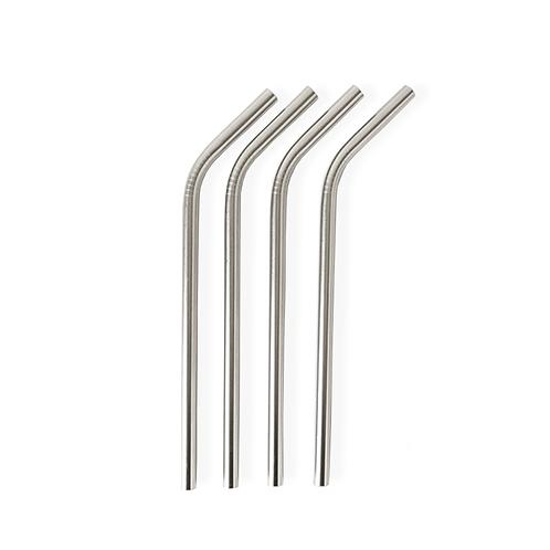 Palhinhas de Aço Inoxidável à Unidade – Curva