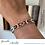 Thumbnail: Bracelet Pocahontas au chanvre naturel