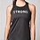 Thumbnail: Black Cut Out Knit Power Tank