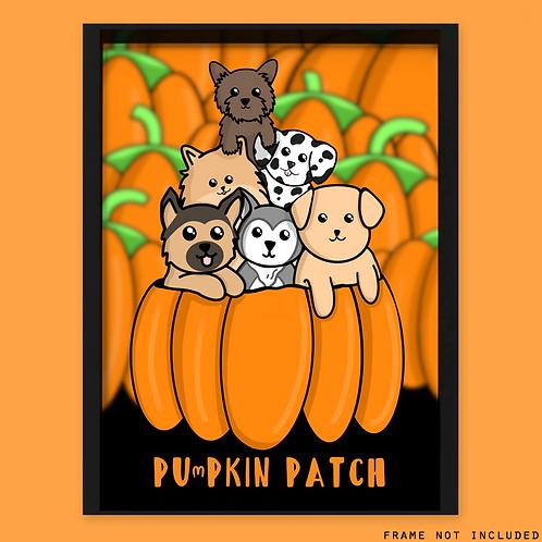 Halloween Dog Print
