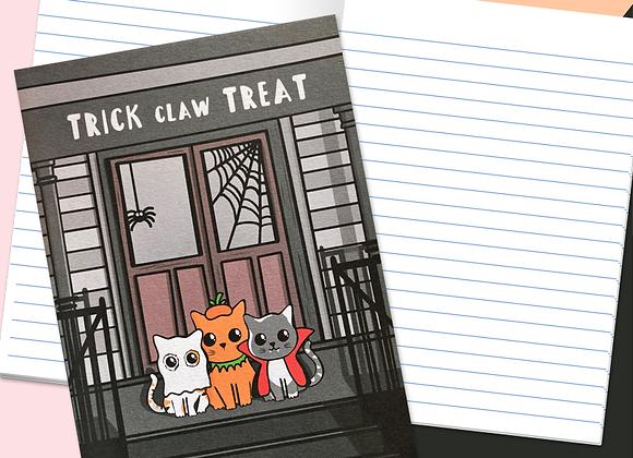 Cat Halloween Notebook
