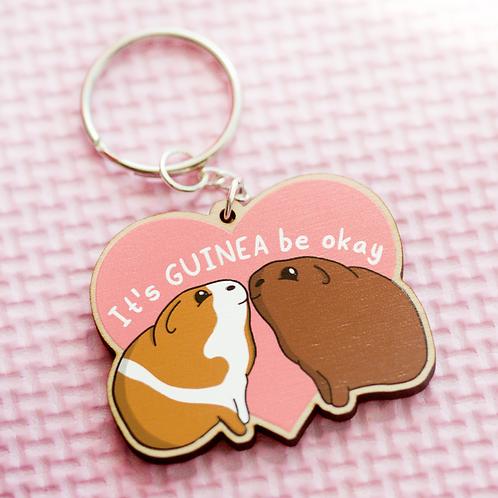 Guinea Pig Keyring