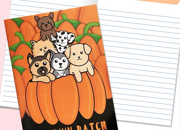 Dog Halloween Notebook