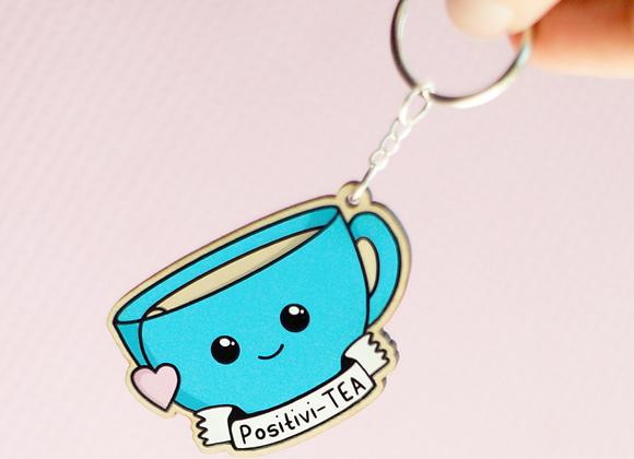 Positivity Tea Keyring