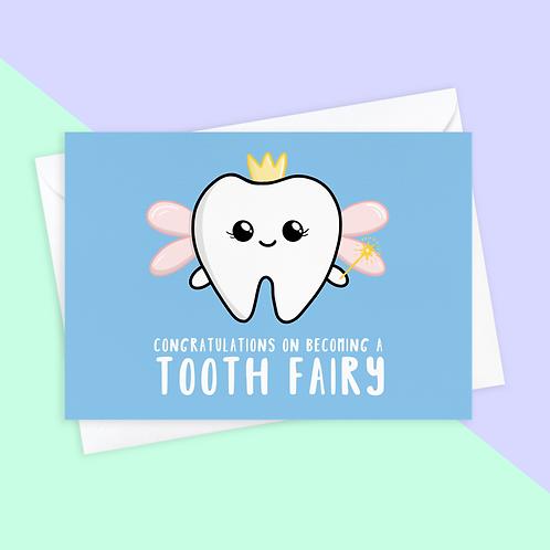 Congratulations Dentist Card