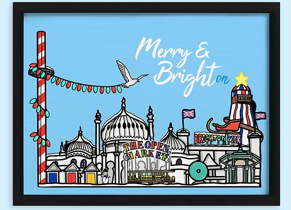 Brighton Christmas Print