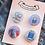 book lover badges, Christmas Gift For Writer