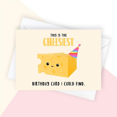 Cheesy Birthday Card