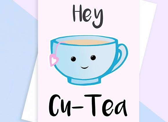 Hey CuTea Card