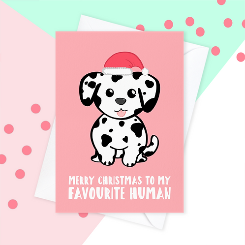 Christmas Card From The Dalmatian