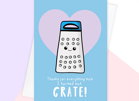 Grate Mother's Day Card