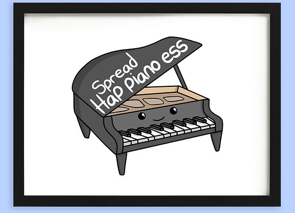 Piano Motivational Print