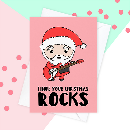 Christmas Card for Guitarist