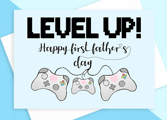 First Father's Day Gaming Card