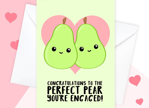 funny engagement card, engagement card for daughter, engagement card for son