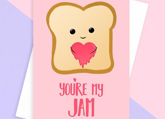 Jam Anniversary Card