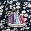 book lover keyring, keyring gift for book lover