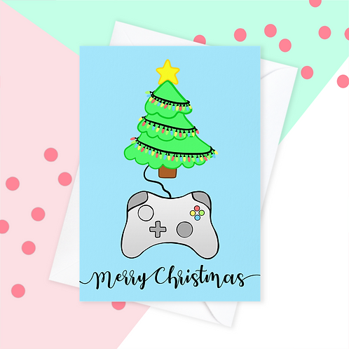 Gamer Christmas Card