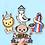 Thumbnail: Brighton Themed Sticker Pack
