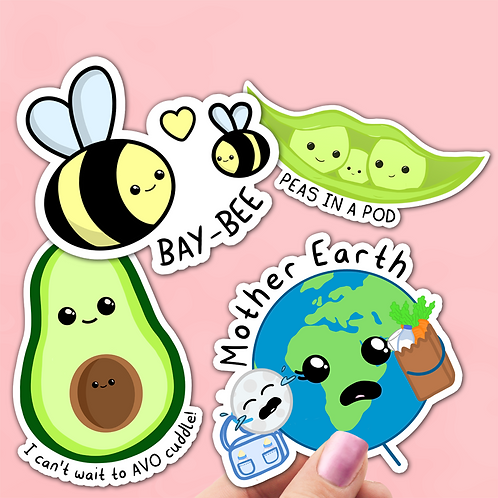 Baby Pregnancy Sticker Pack