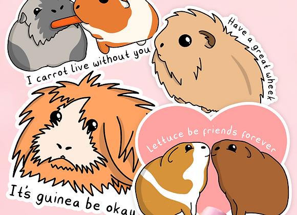 Guinea Pig Sticker pack