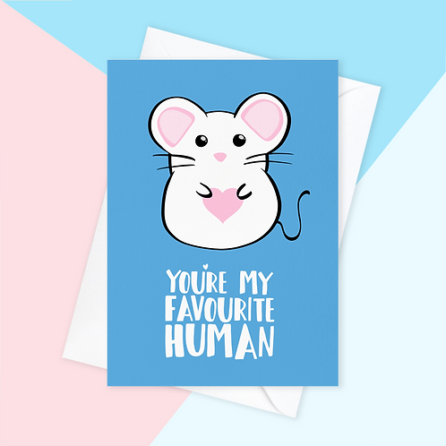 From The Mouse Card