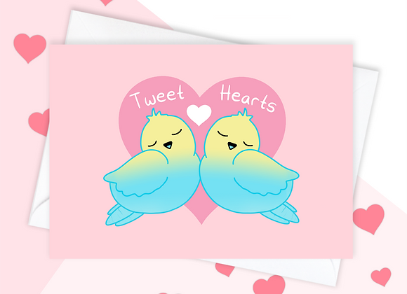Budgie Anniversary Card, Anniversary Card For Budgie Owner