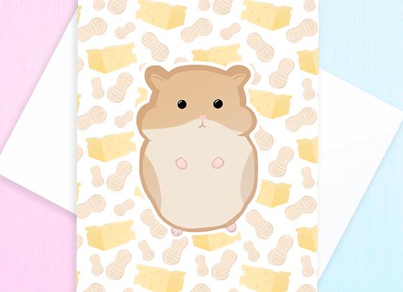 Blank Hamster Card