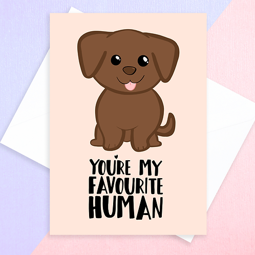 From The Dog Card