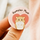 hamster mum badge, hamster owner badge