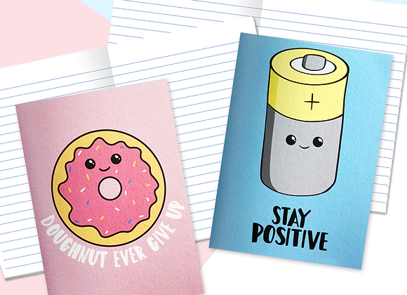 Positivity Mini Notebooks