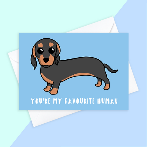 From The Sausage Dog Card