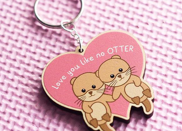 Otter Keyring