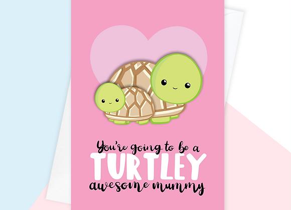 mummy to be baby shower card, pregnant mummy birthday card