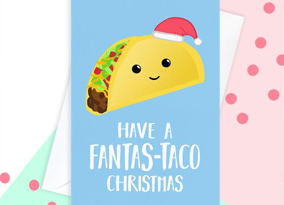 Taco Christmas Card