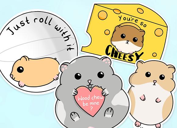 Hamster Sticker Pack