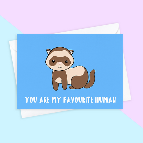From The Ferret Card