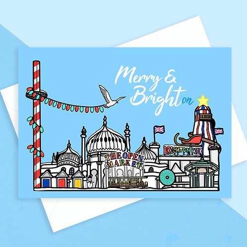25 Brighton Christmas Cards