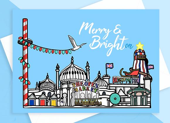 Brighton Christmas Card